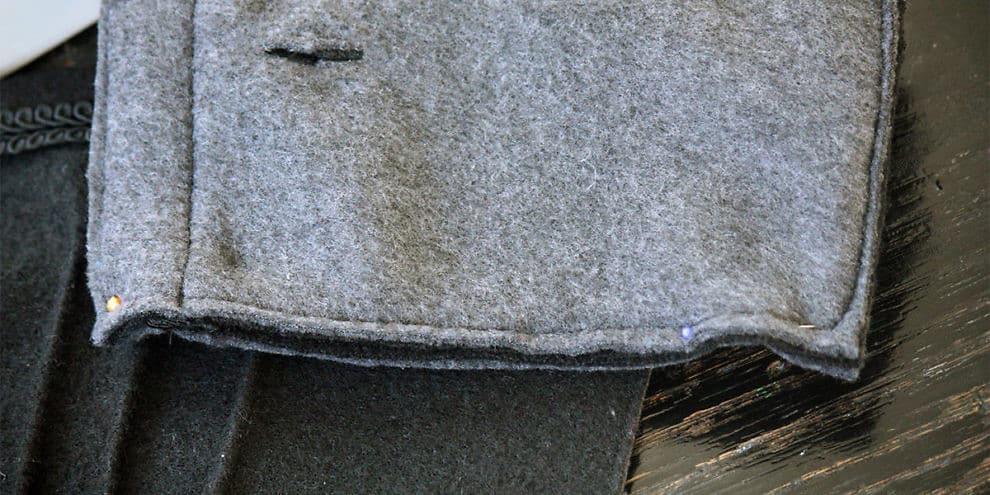 Caldissimi guanti in pile e lana cotta