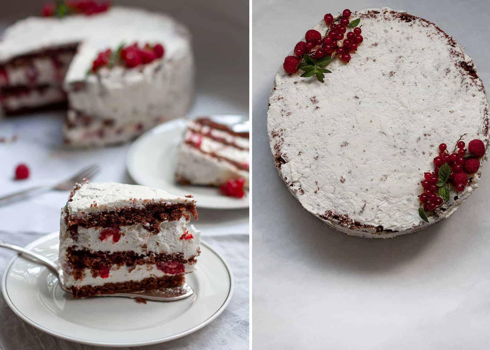 Schneewittchen - Torte