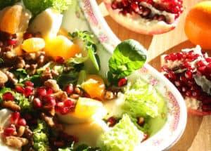 erbe - insalata di crescione
