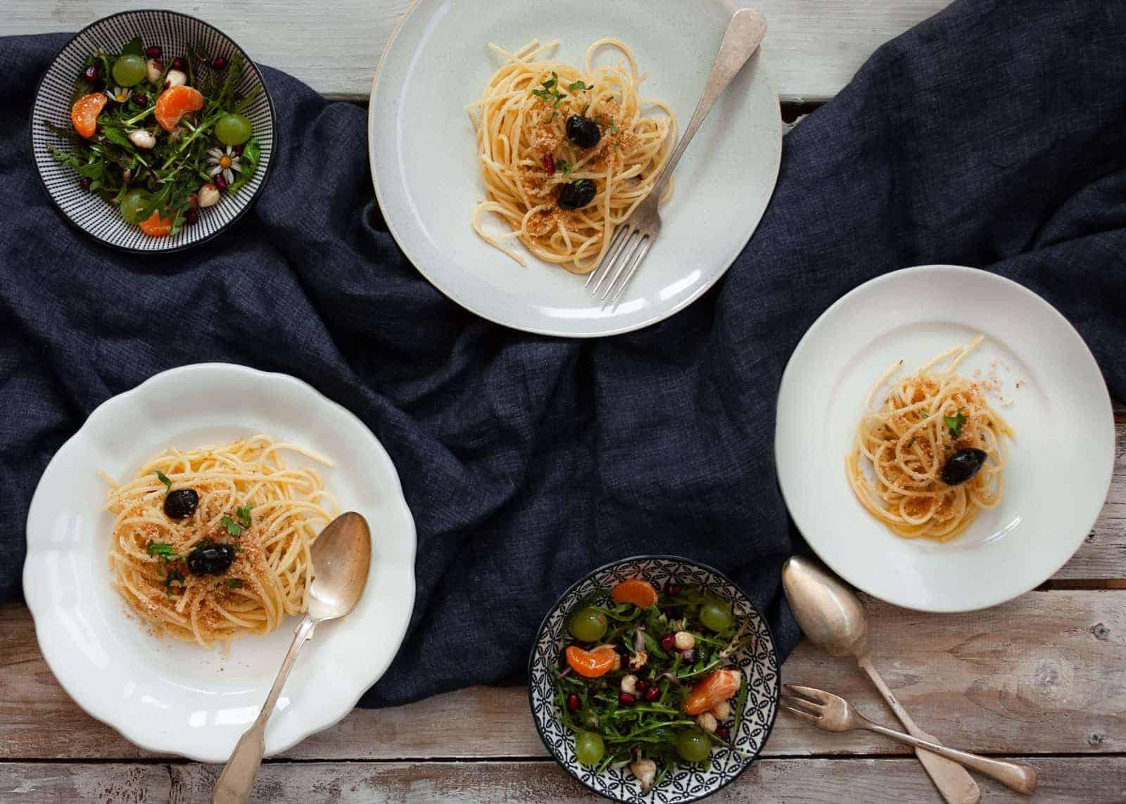 Spaghetti poveri - ricetta