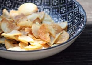 Gemüse - Knoblauch-Chips