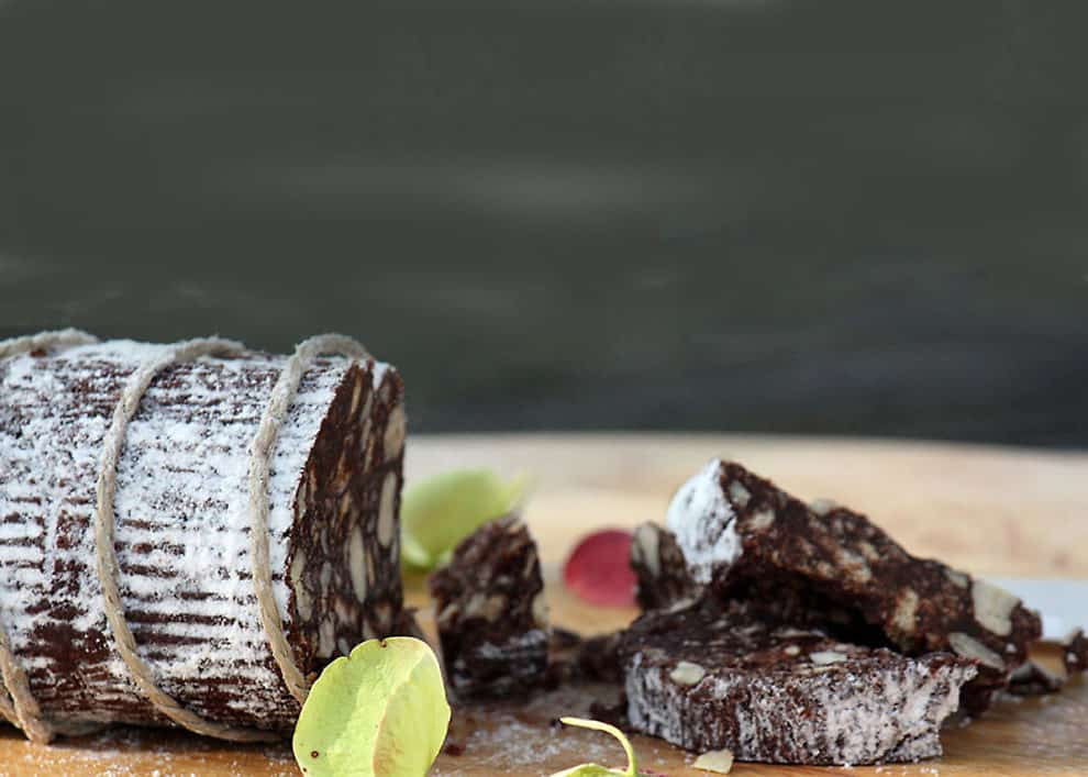 Schokoladen Salami