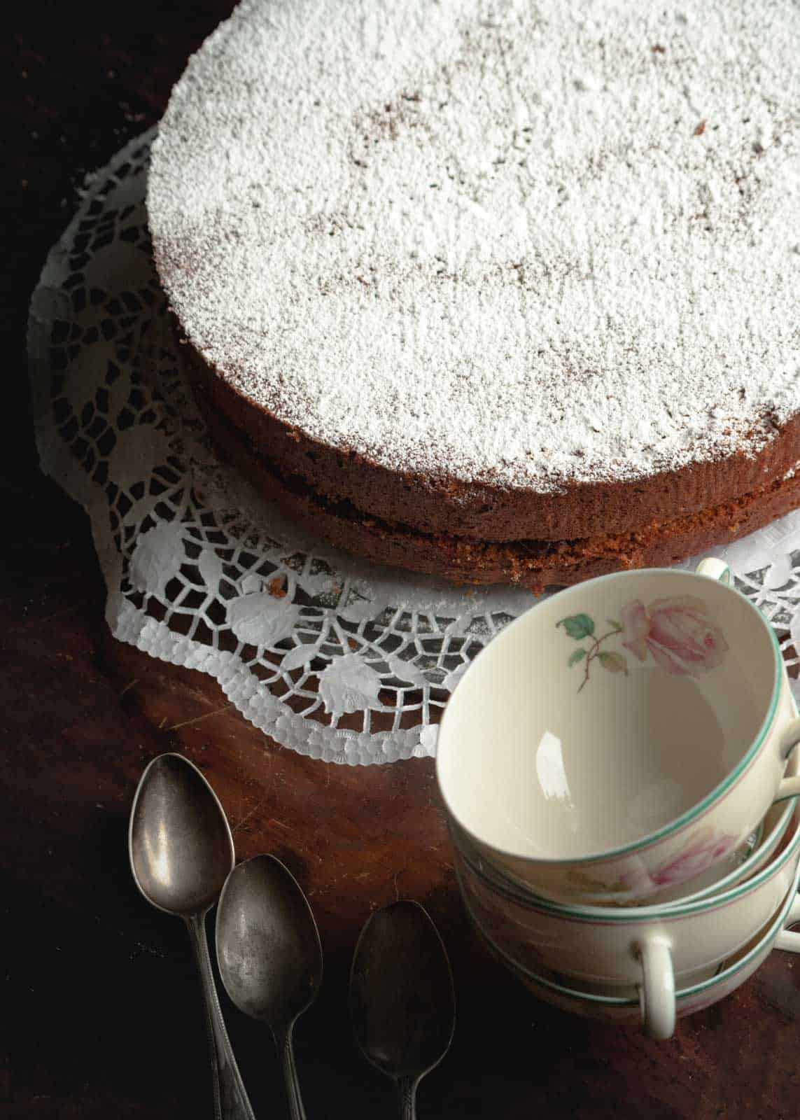 torta ladina di grano saraceno