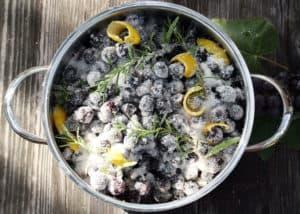 dolci - marmellata uva e rosmarino