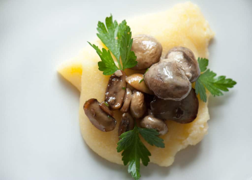 cucinare - Polenta e funghi