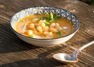 Gerichte - pikante Maroni-Kürbissuppe