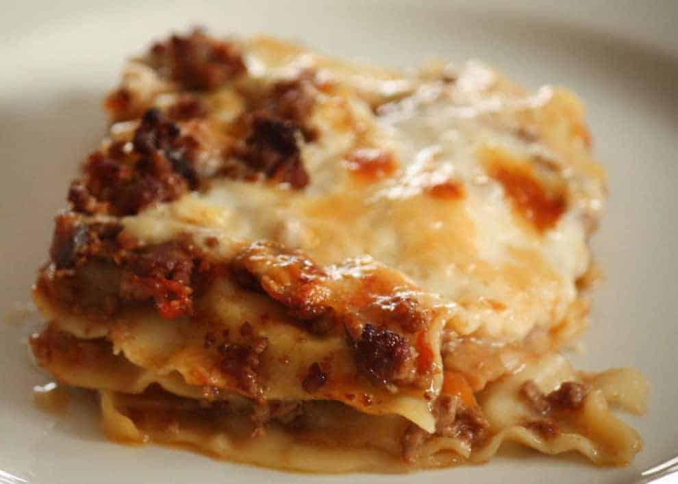 lasagne wie beim italiener