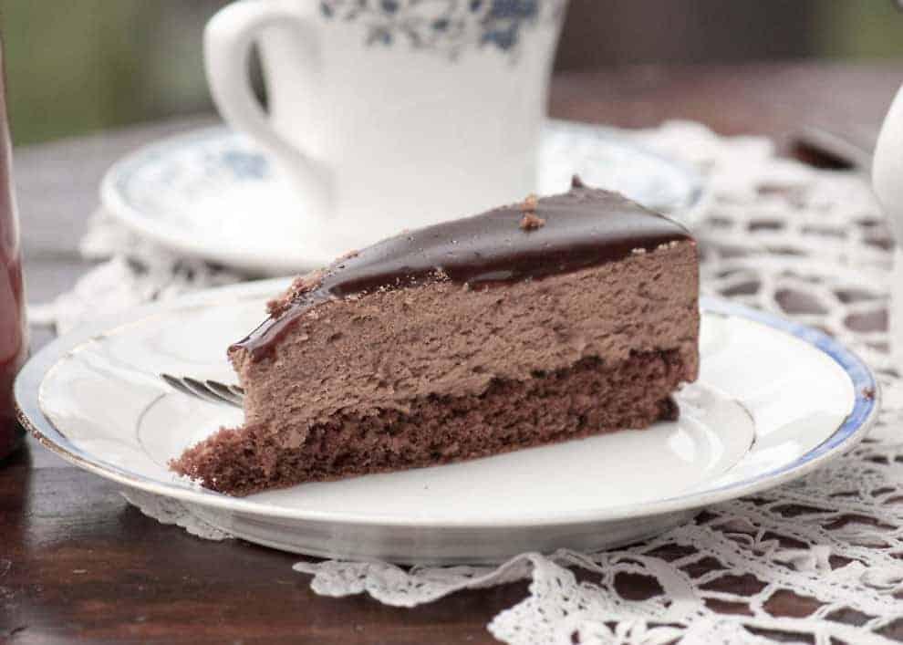 Schokoladenkuchen - Bella di Notte