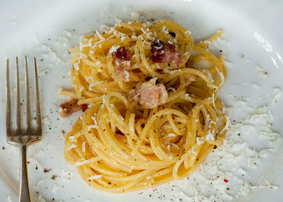 cucinare - Spaghetti alla Carbonara