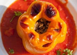 Gefüllte neapolitanische Paprika