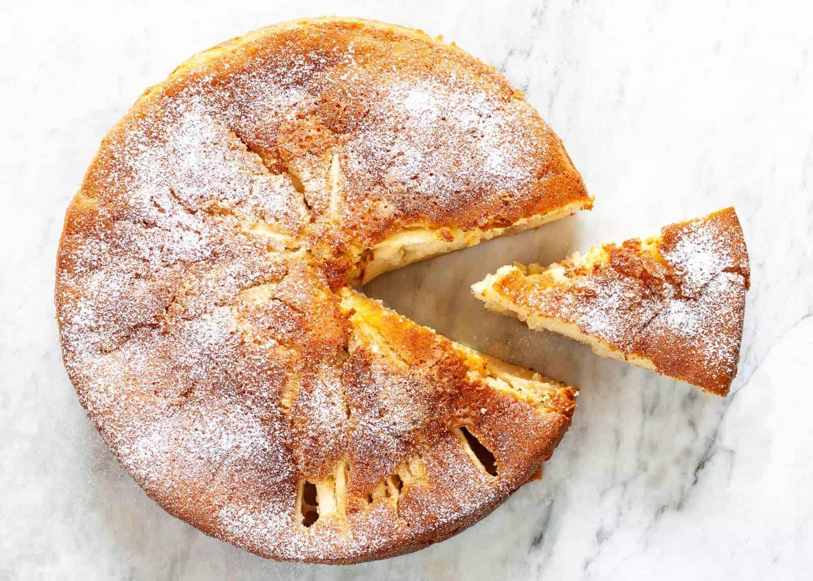torta di mela - ricetta