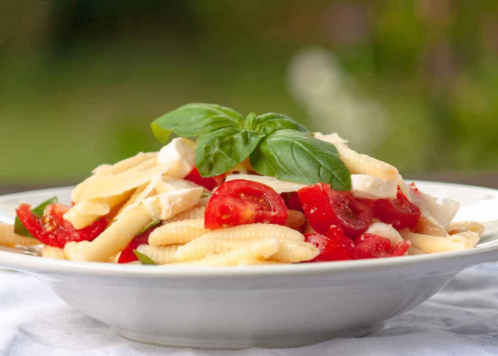 Pasta Fredda Caprese - Nudelsalat