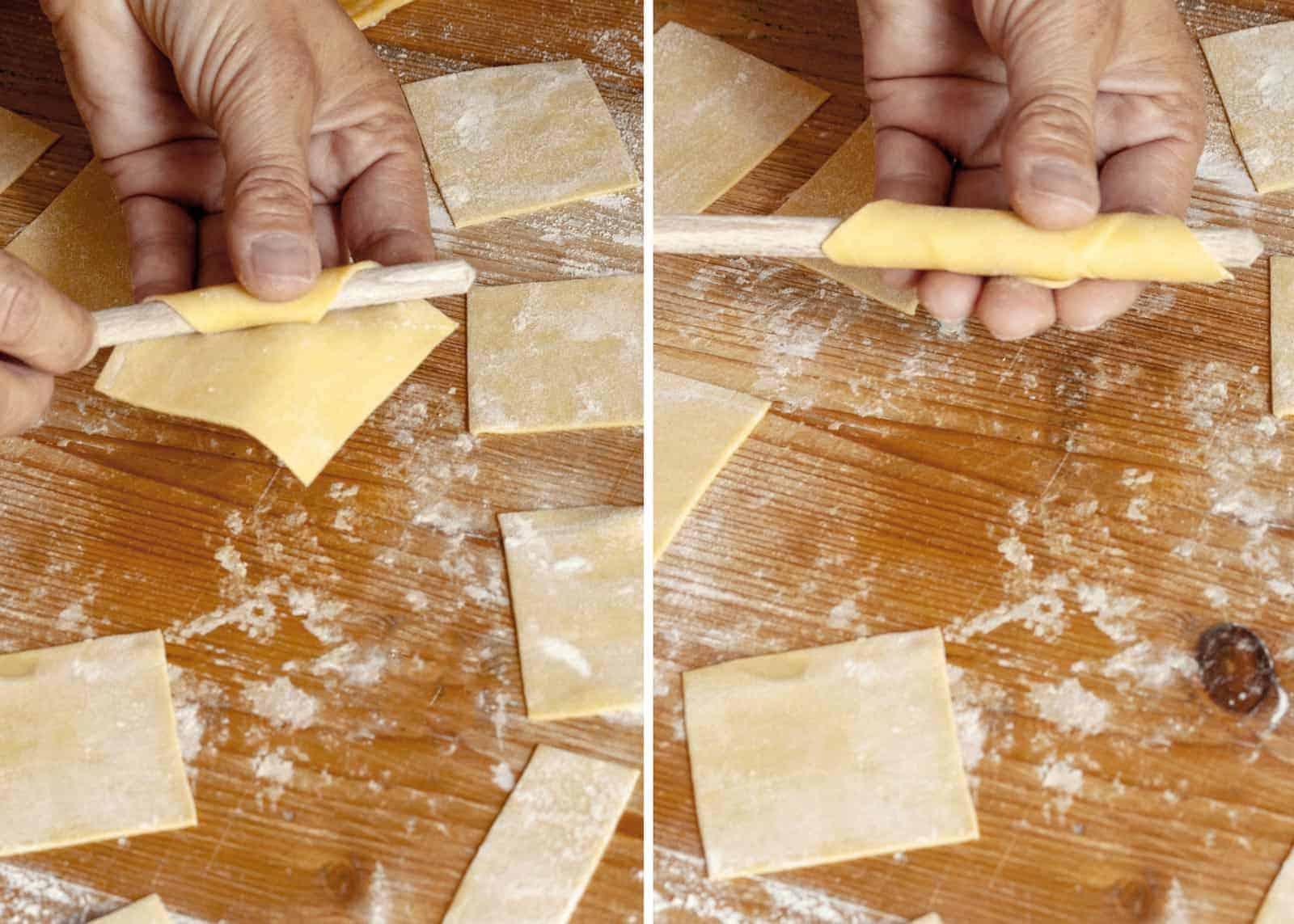 homemade garganelli - recipe