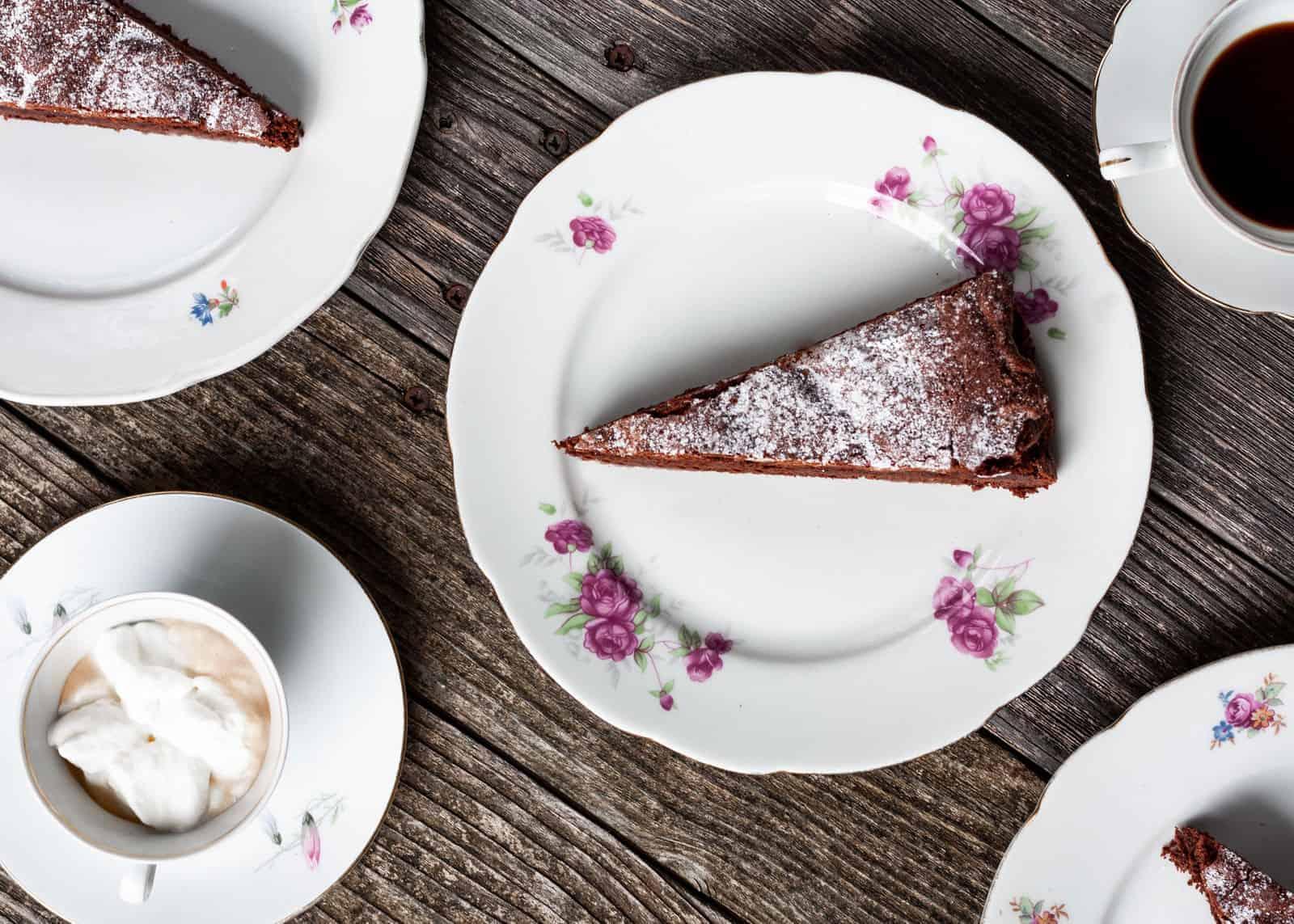 Torta Tenerina Rezept