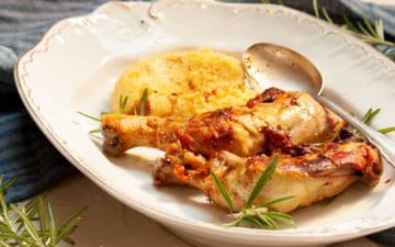 braised chicken with rosemary recipe