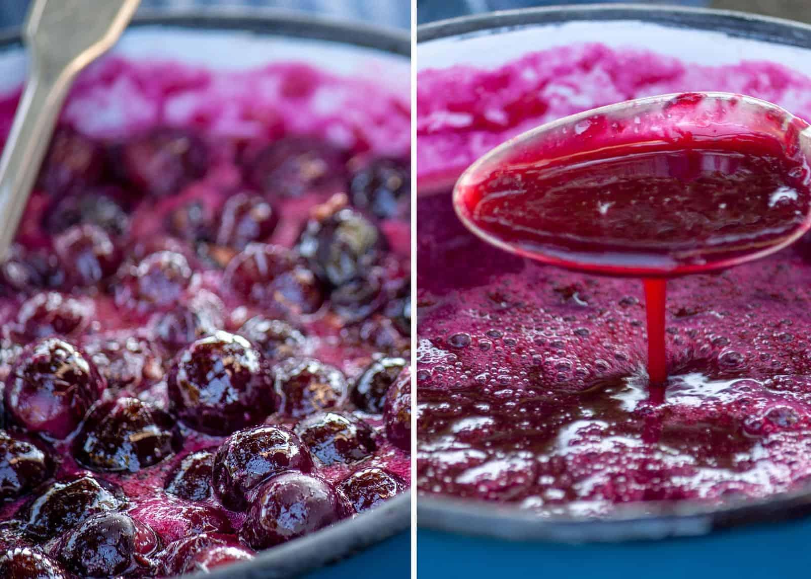marmellata uva menta e peperoncino