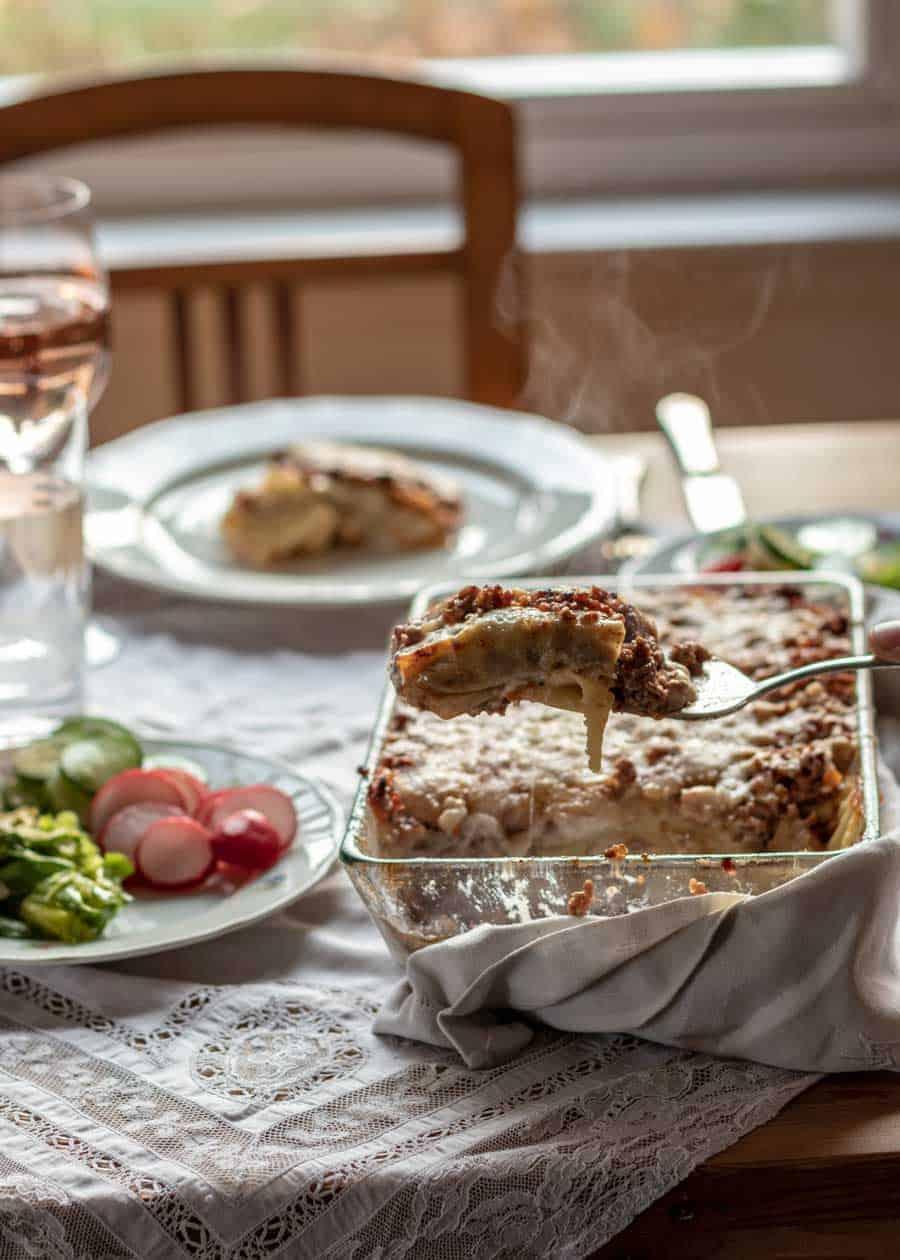 cannelloni alla toscana - pasta al forno