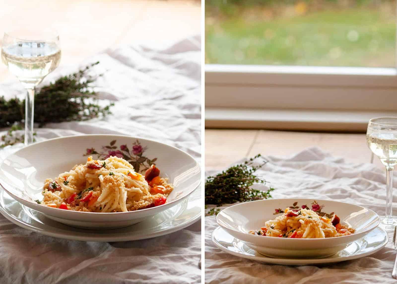 Spaghetti nach Fuhrmannsart