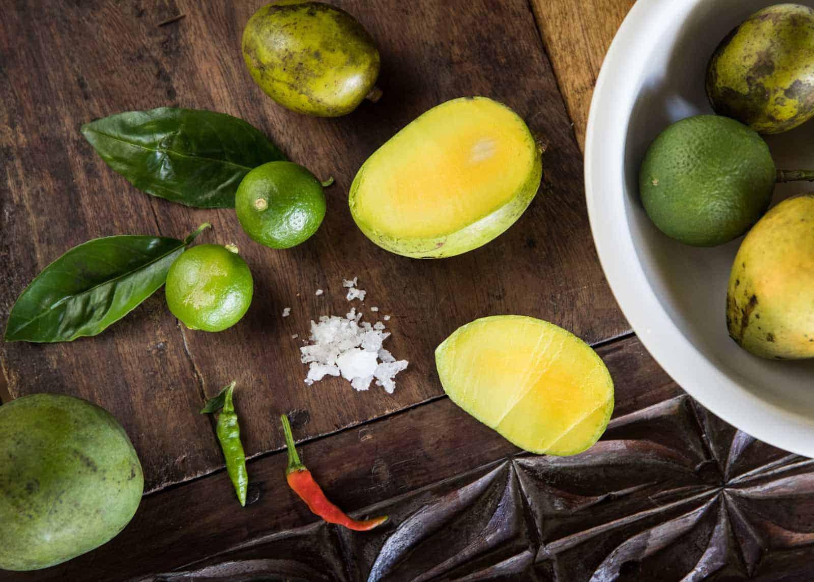 insalata di mango