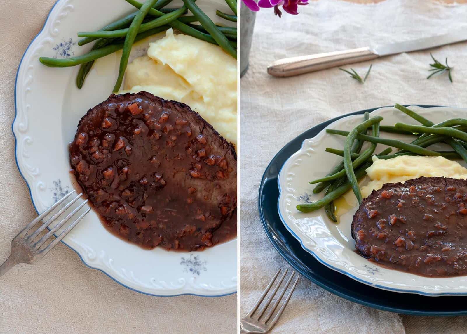 Beef Braised in Barolo - recipe