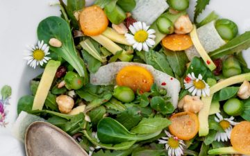 Dandelion salad - recipe