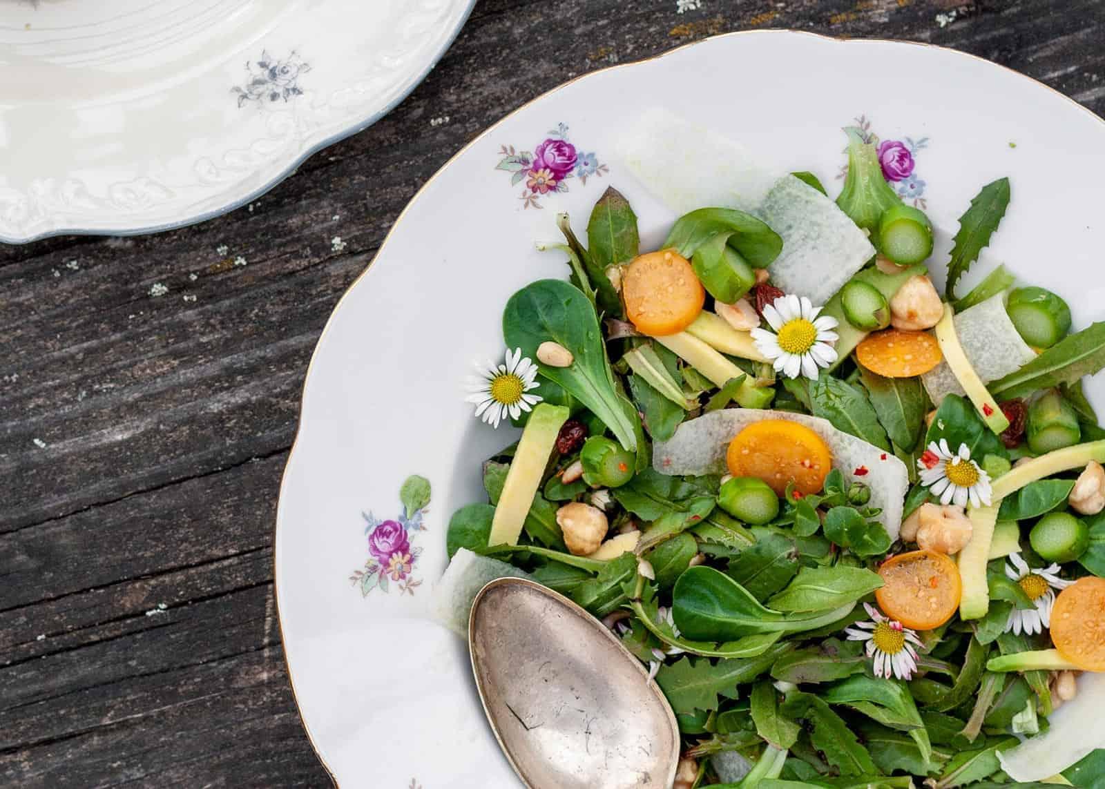 insalata di tarassaco ricetta
