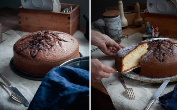 Torta semplice – the simple cake for every day - recipe