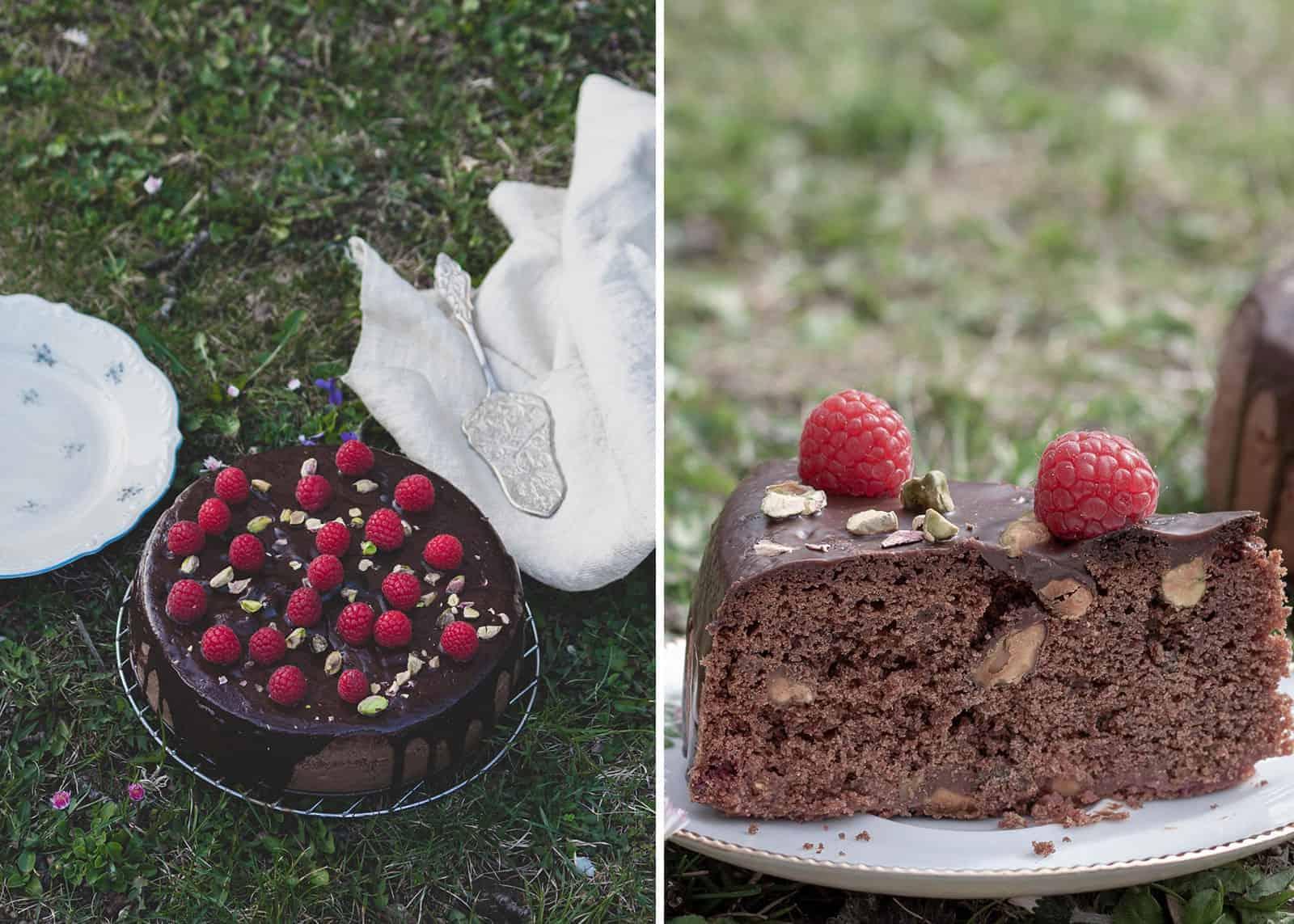 torta lamponi ricetta