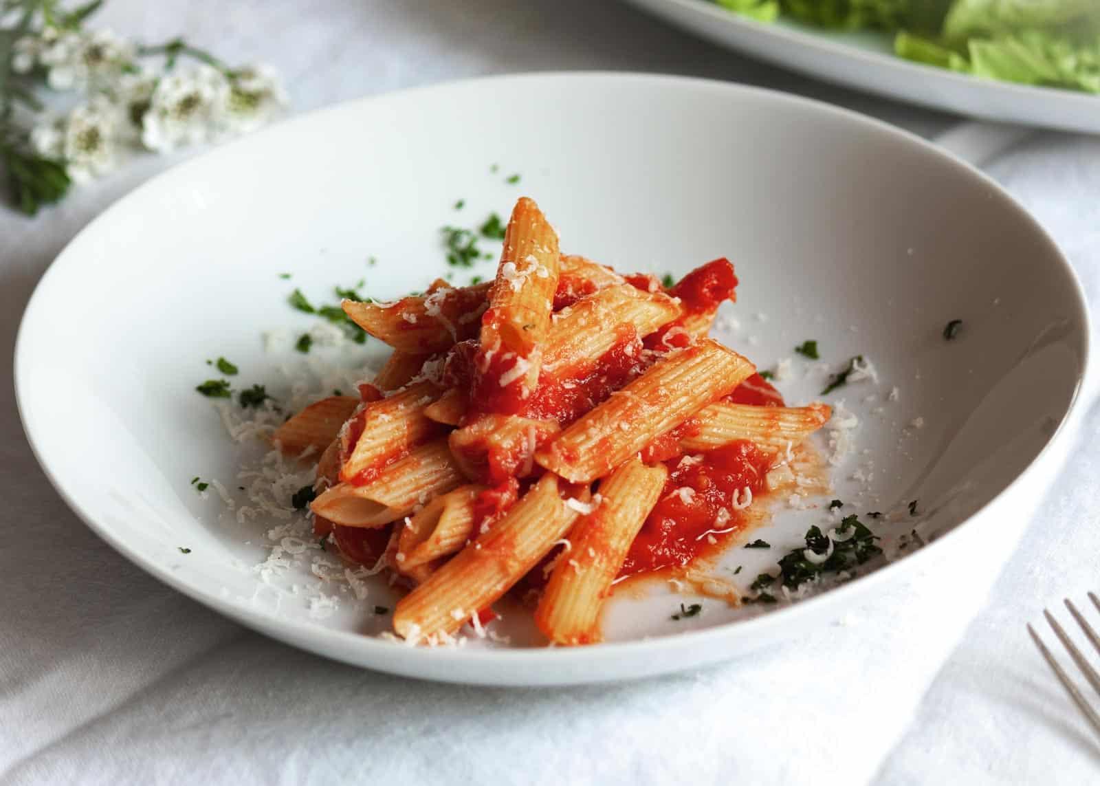 Penne all'arrabbiata - recipe
