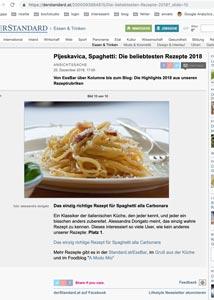 contatto: migliori blog culinari 2018
