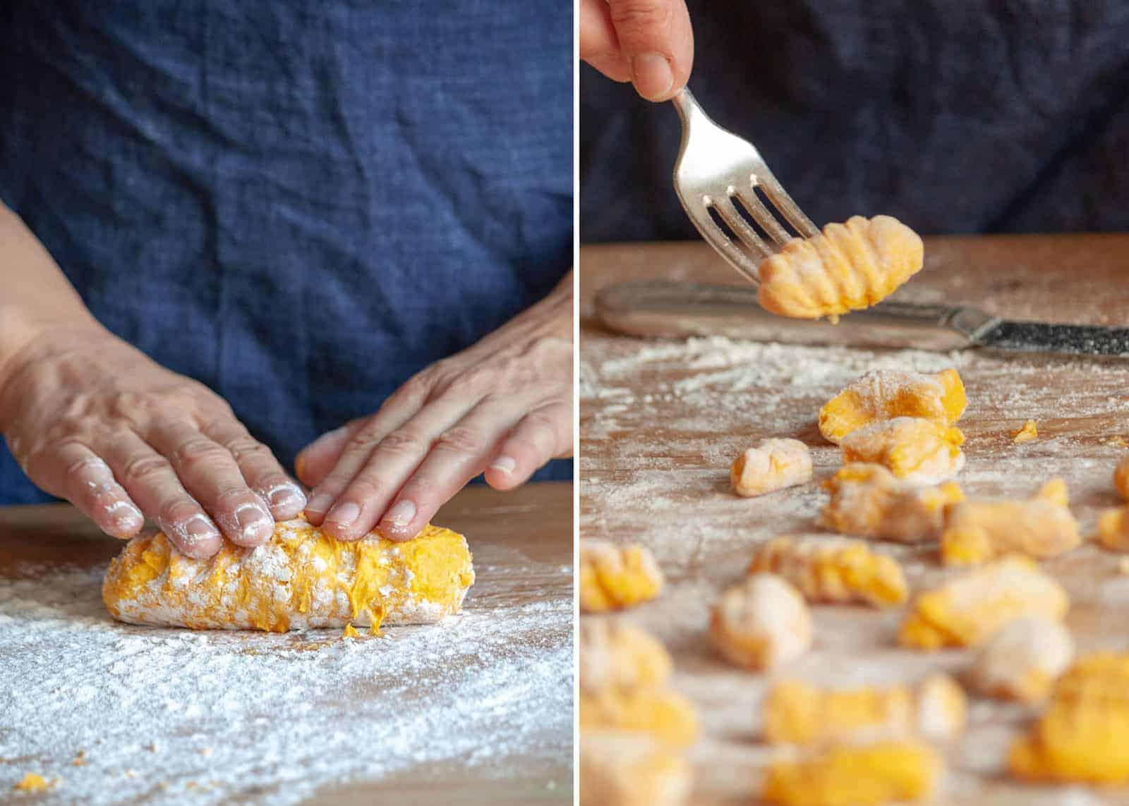 Pumpkin gnocchi - recipe