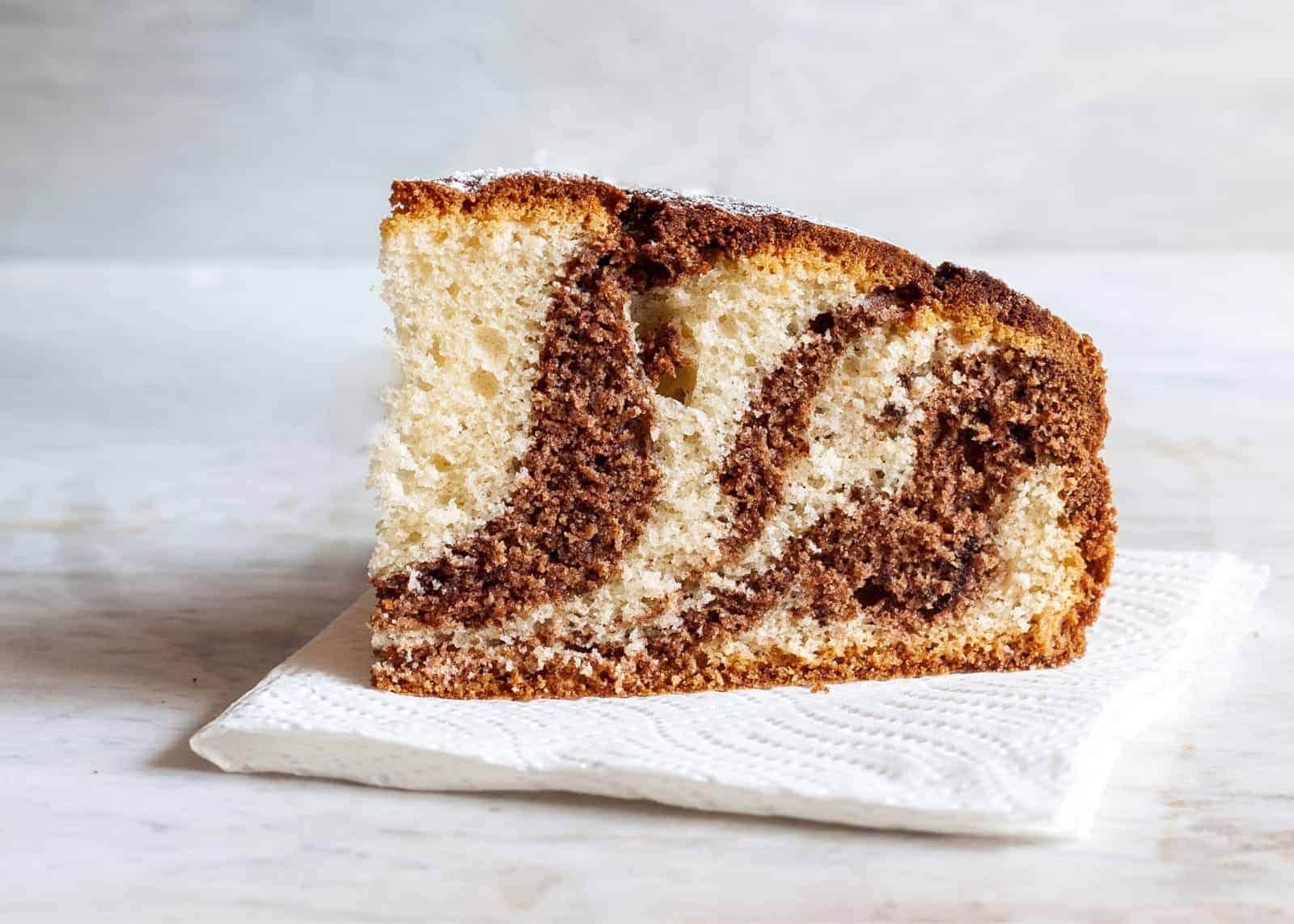 Marble cake - recipe