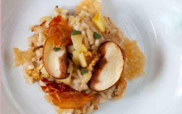 Apfel-Walnuss-Risotto