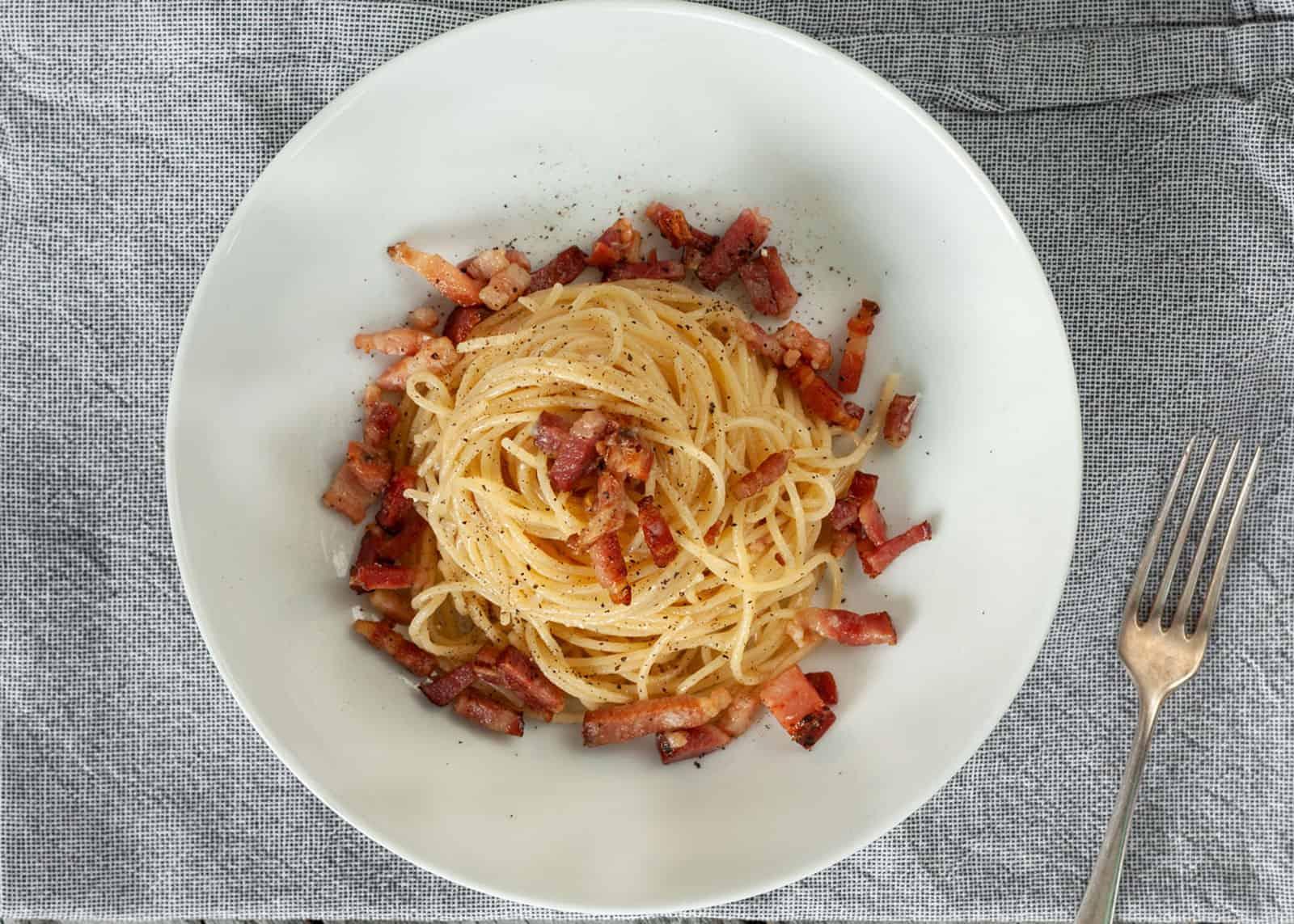 Spaghetti alla Gricia ricetta