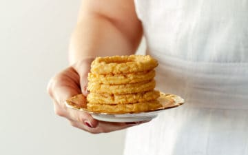 Corn biscuit - Paste di Meliga recipe