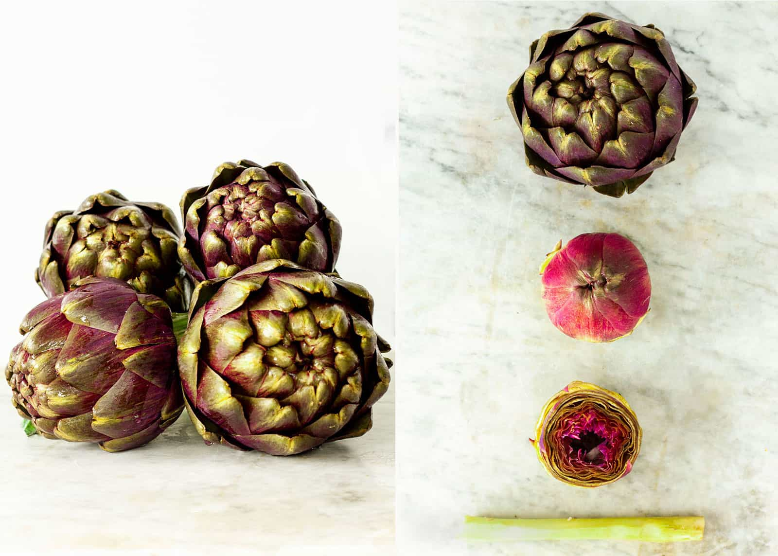Artichokes in Jewish and Roman style - recipe