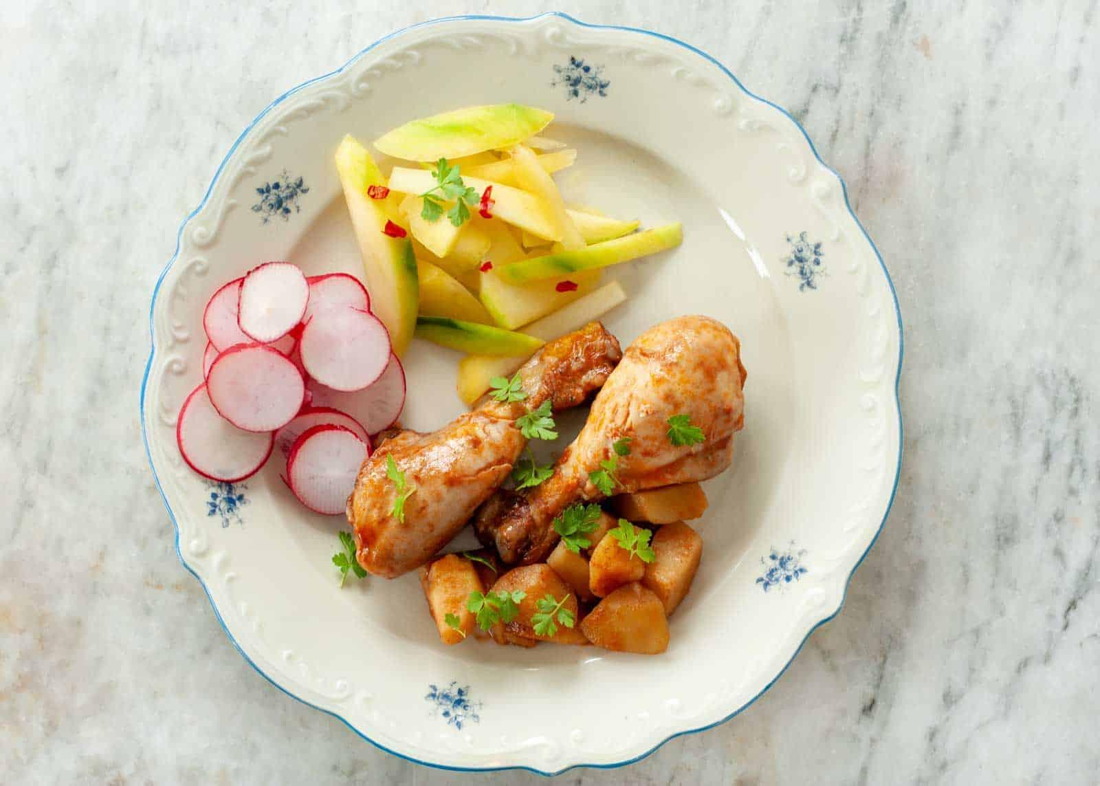 Pollo alla Marengo ricetta