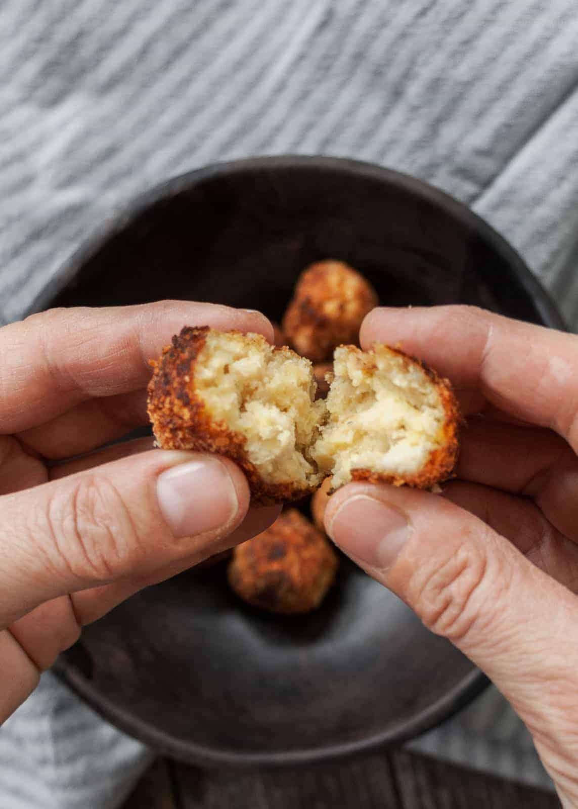 Kartoffel- Frikadellen