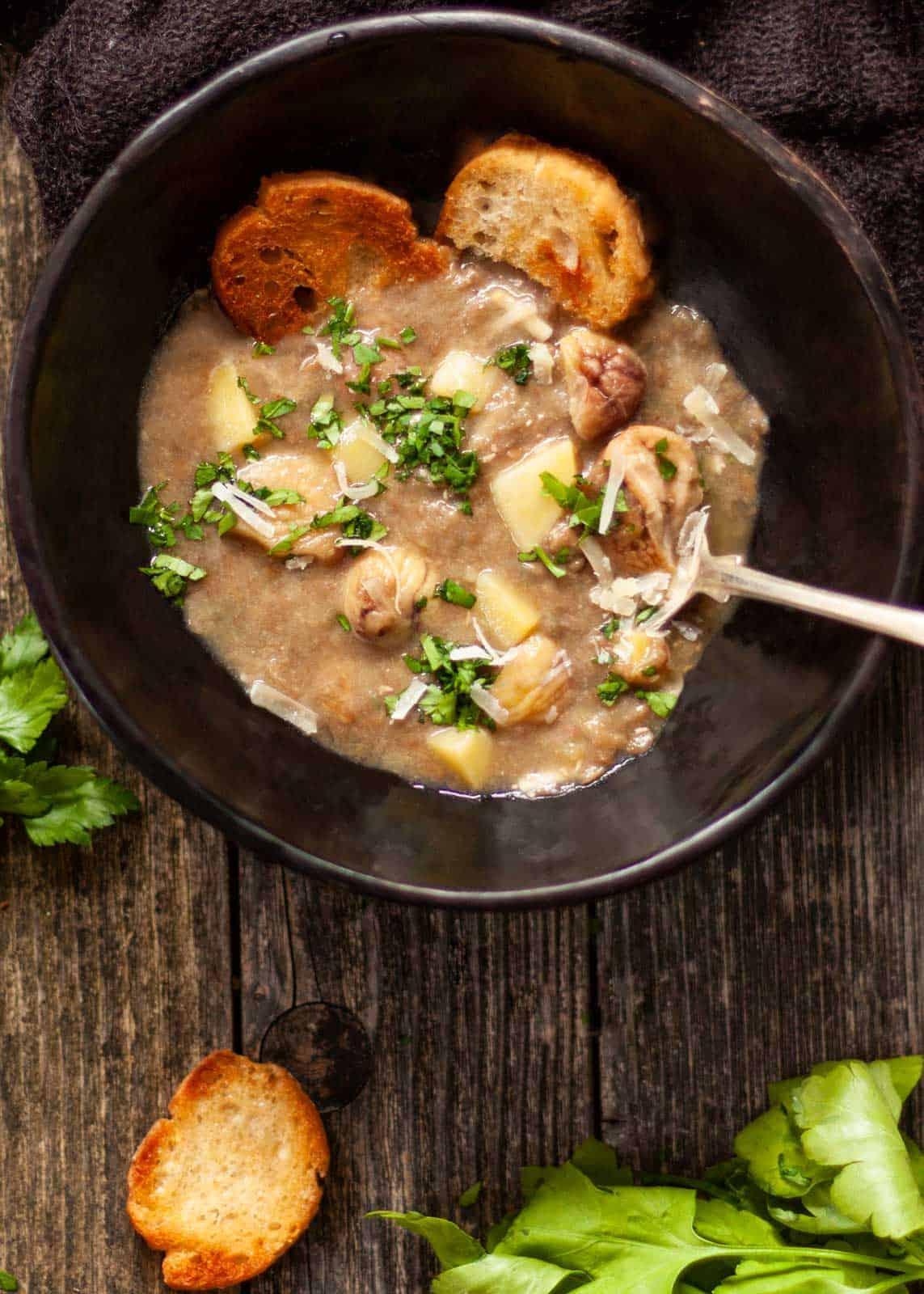 Zuppa di lenticchie ricetta