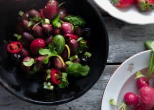 Marinierte Oliven nach sizilianischer Art