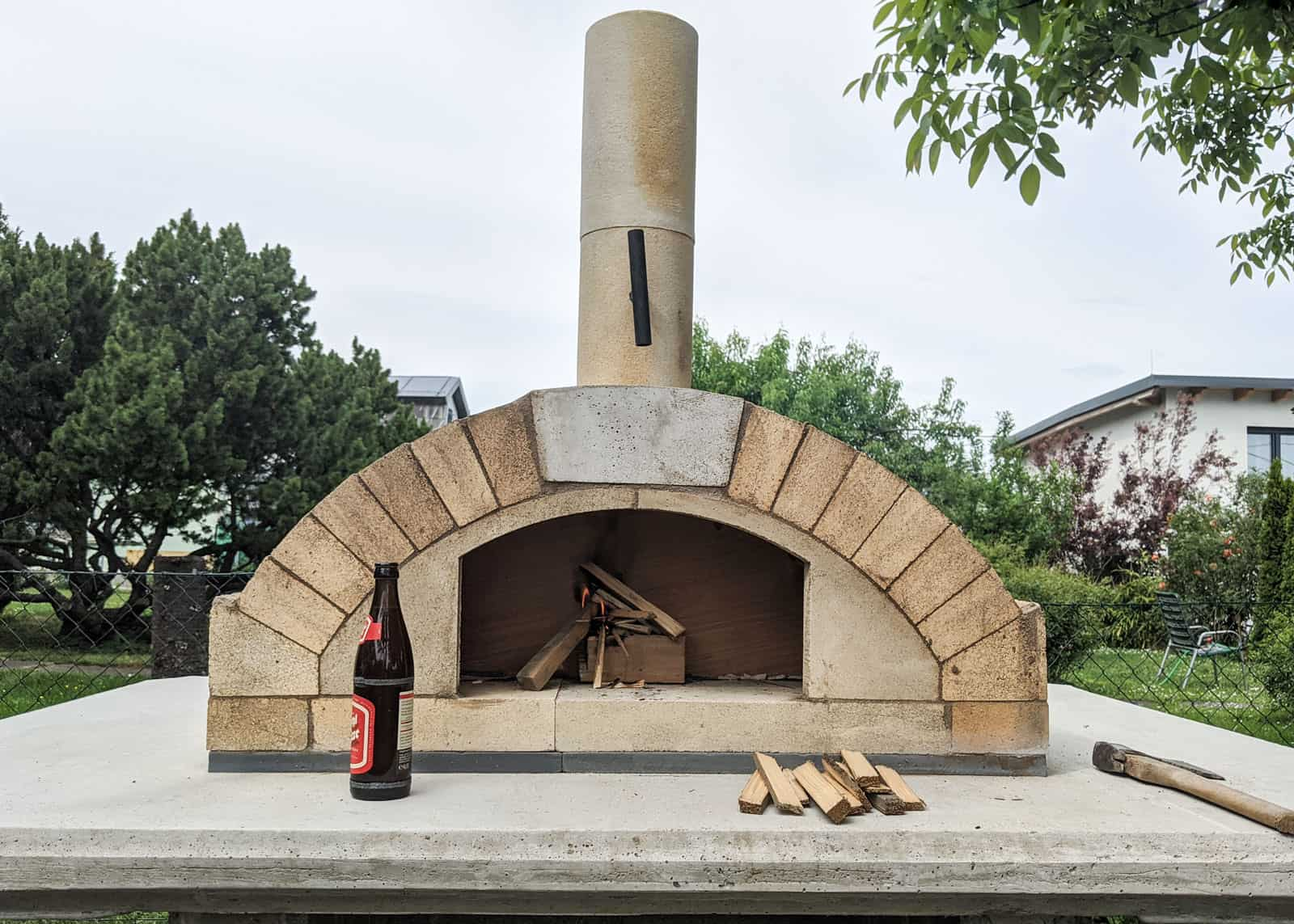 Pizza-Holzofen