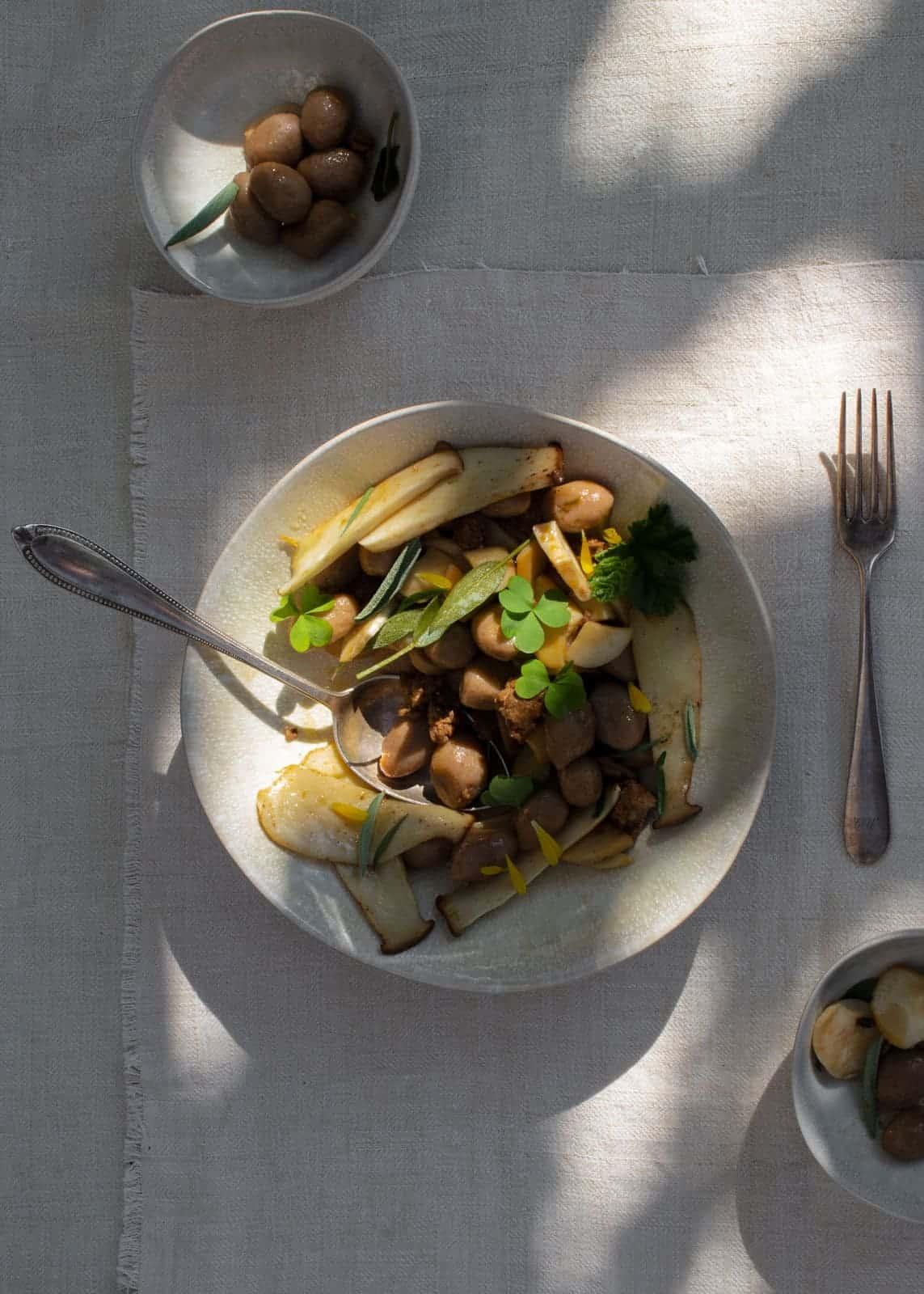 Gnocchi mit Pilzen und Luganega - Rezept