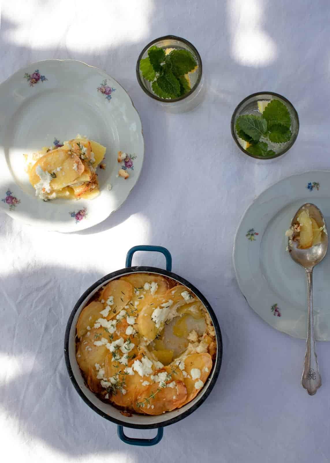 Potatoes Lasagne