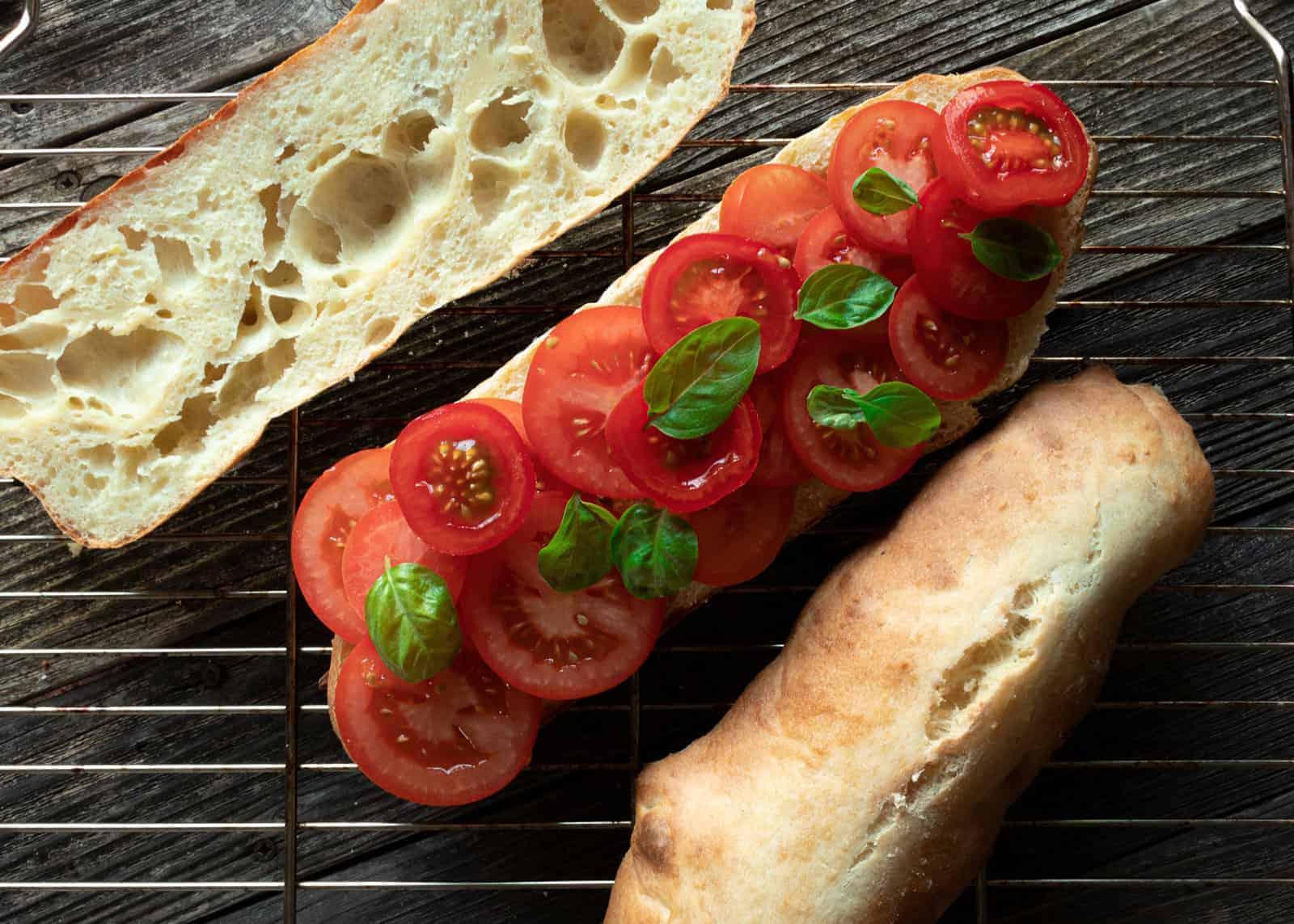Hartweizen Brot aus Apulien